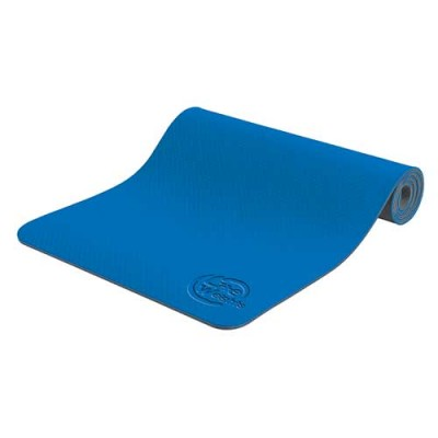 Коврик для йоги и фитнеса 173*61*0,6см 5460LW, синий/антрацит