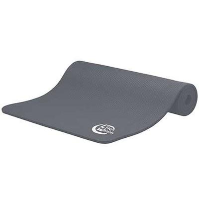 Коврик для йоги и фитнеса 180*60*1см 5410LW, антрацит